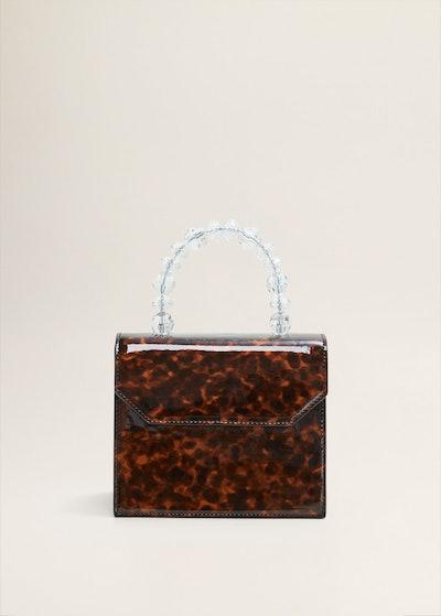 Tortoiseshell Bead Bag