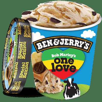 Bob Marley's One Love Ice Cream, Pint