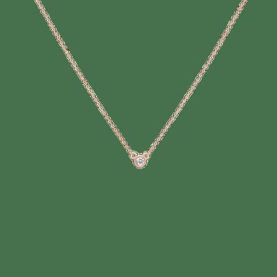 AUrate Diamond Bezel Necklace