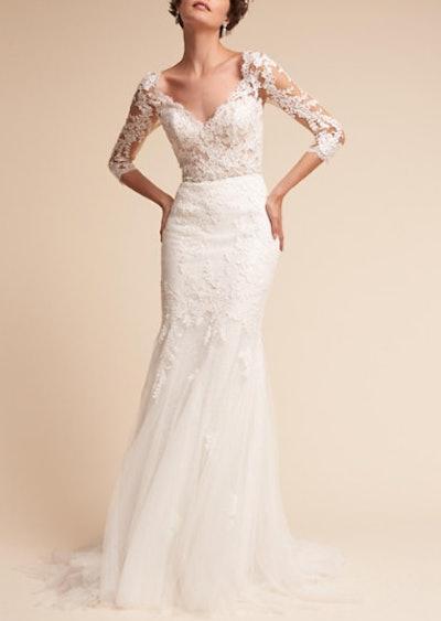 Pique Gown