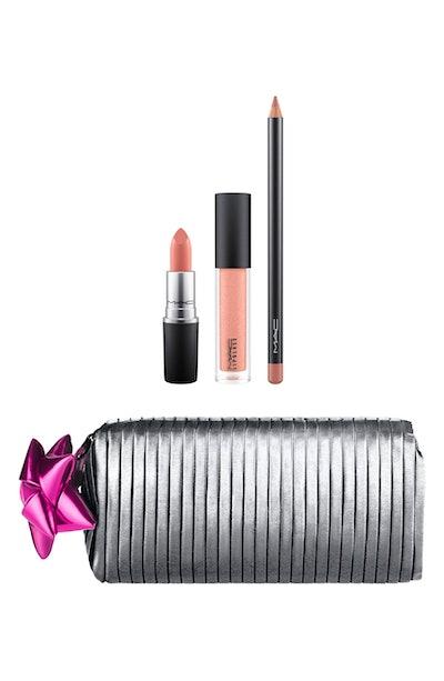 MAC Shiny Pretty Things Goody Bag Nude Lips