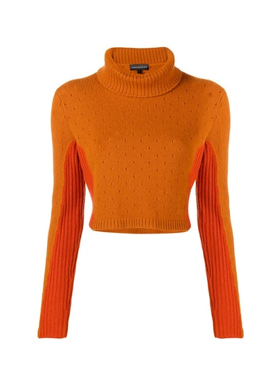 Cashmere in Love Layla Cropped Rollneck