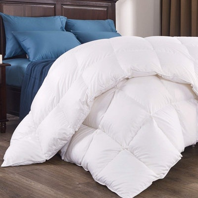 puredown 800 Fill Power Natural White Goose Down Comforter