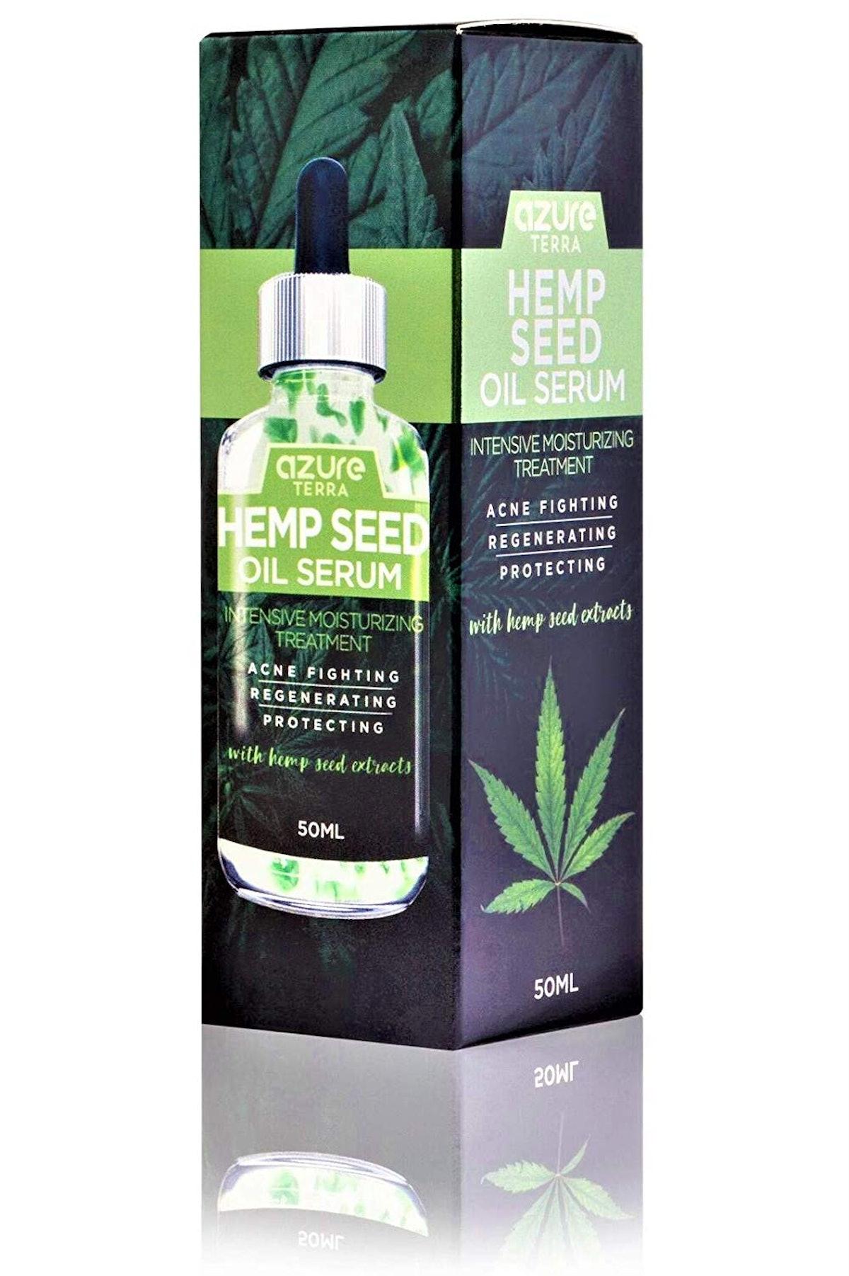 Azure Cosmetics Hemp Seed Oil Serumq
