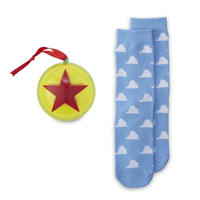 Toy Story Holiday Socks in Ornament for Adults