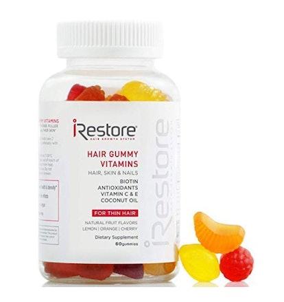 iRestore Hair Gummy Vitamins