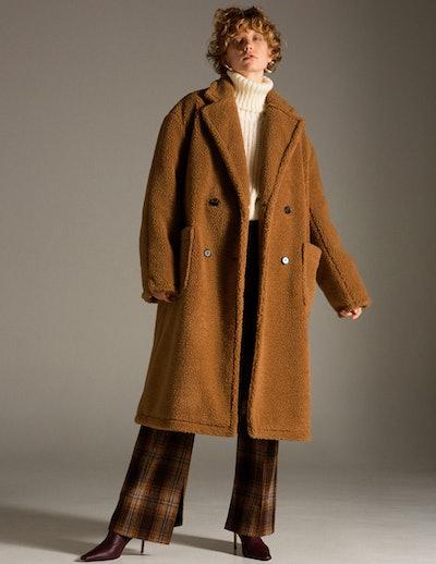 Teddy Bear Wool Coat