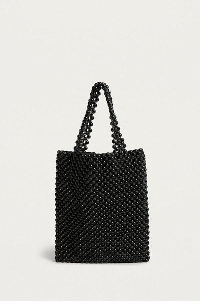 UO Mini Beaded Tote Bag