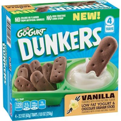 Yoplait Go-Gurt Vanilla Yogurt Dunkers