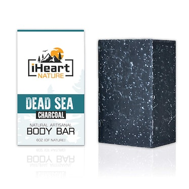 iHeart Nature Activated Charcoal Soap Bar