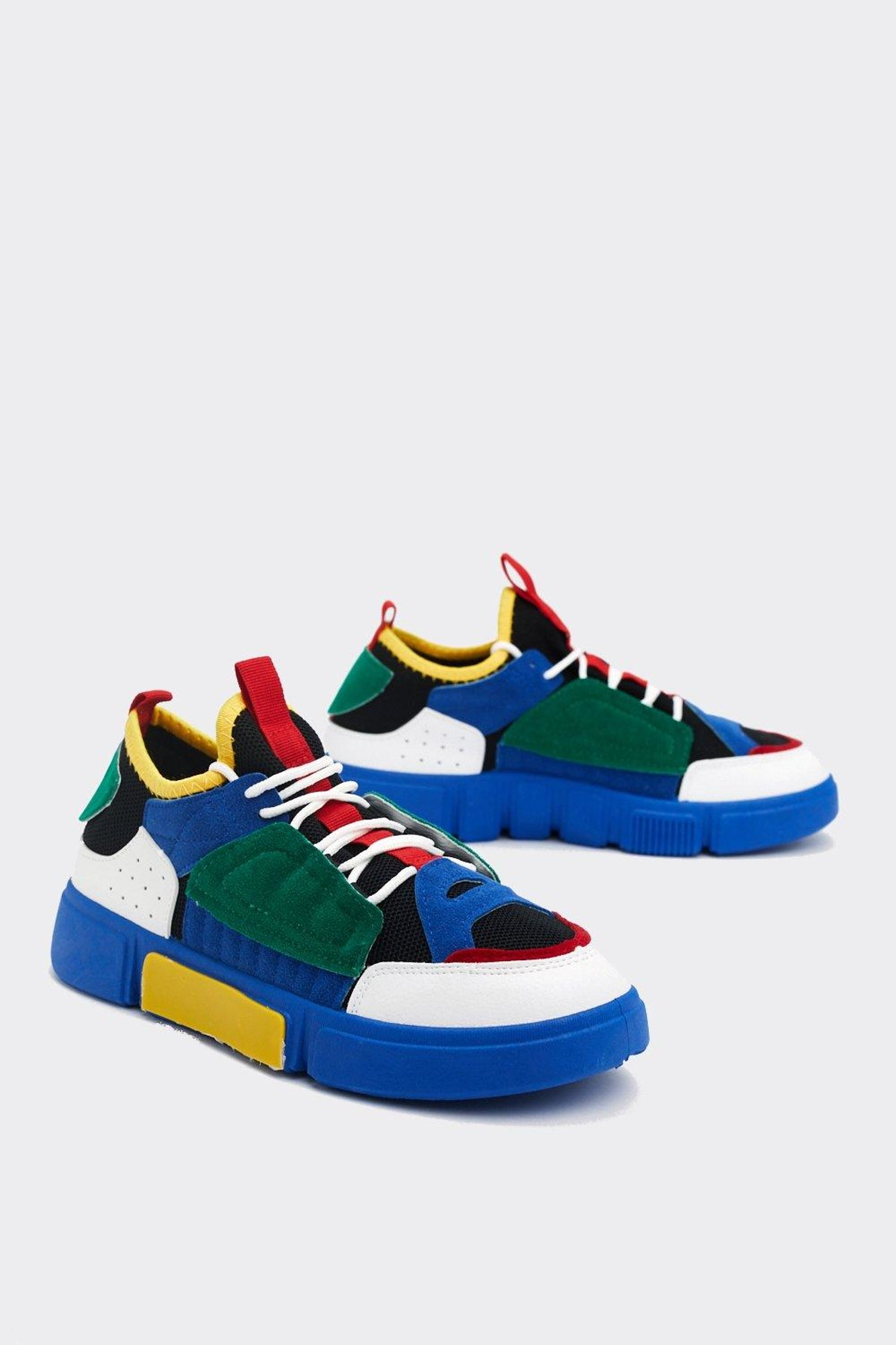Think Outside the Colorblock Sneaker