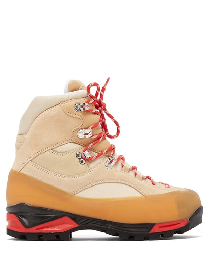 Sarai High-Top Suede Hiking Boots