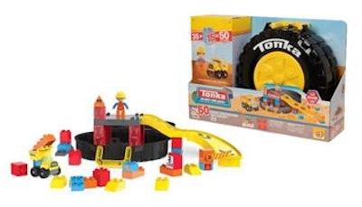 Tonka Mighty Builders Deluxe Construction Tire Case Set