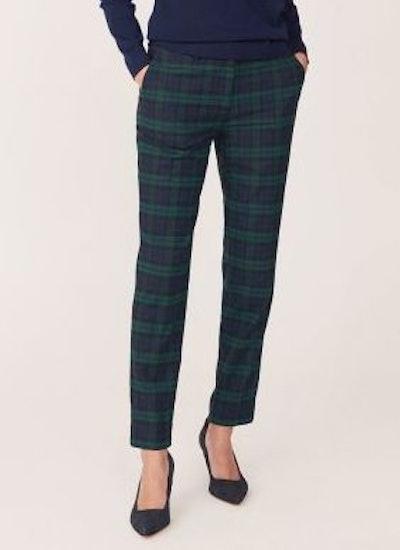 Green Washable Blackwatch Pants