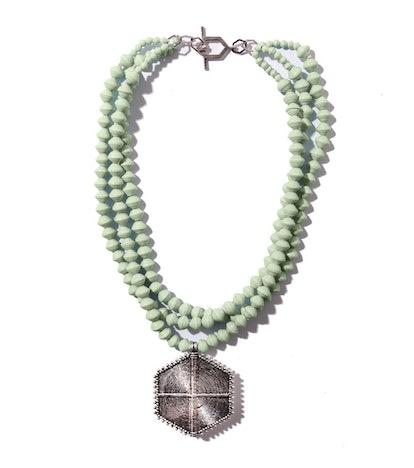 Hexagon Collar Necklace