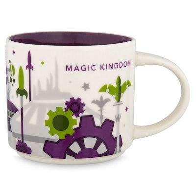 Magic Kingdom YOU ARE HERE Starbucks Mug