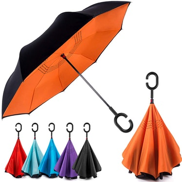 BAGAIL Double Layer Inverted Umbrella