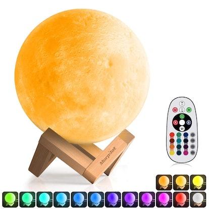 Morpilot 3-D Printed Moon Lamp