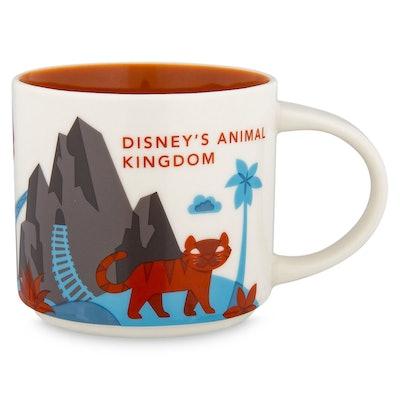 Disney's Animal Kingdom YOU ARE HERE Starbucks Mug