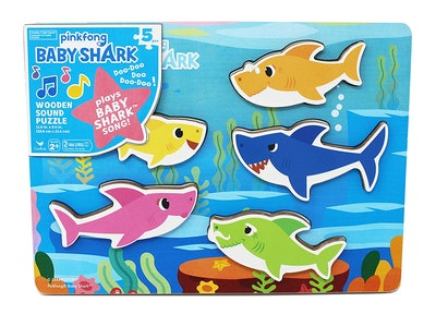 PinkFong Baby Shark Sound and Shape Puzzle