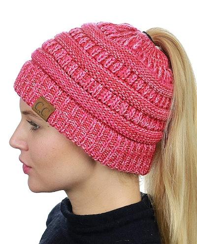 C.C. BeanieTail Ponytail Beanie Hat