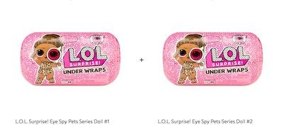 L.O.L. Surprise! Under Wraps 2-Pack Bundle
