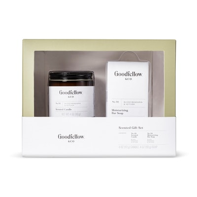 Scented Candle & Soap Gift Set - Goodfellow & Co Olive/Brown