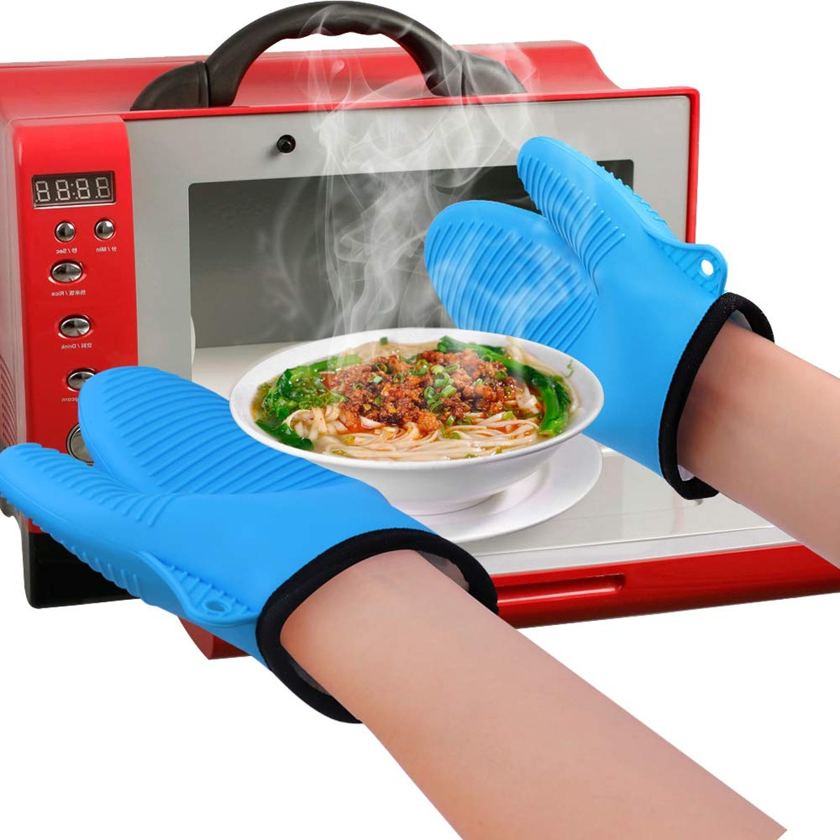 GEEKHOM Silicone Oven Mitts