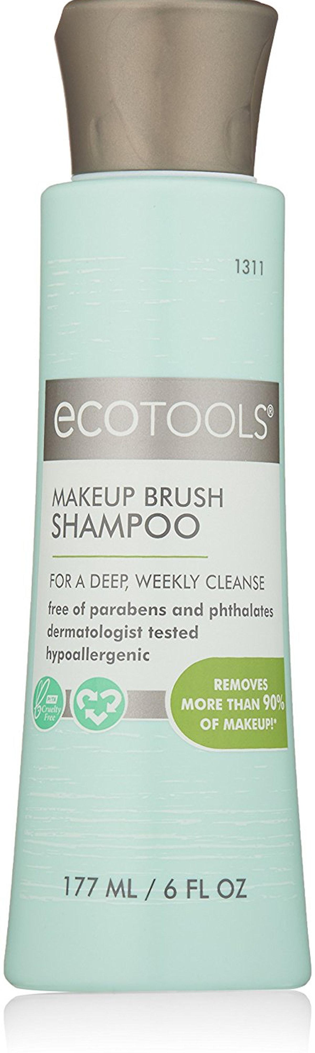 Ecotools Makeup Brush Cleansing Shampoo, 6 oz