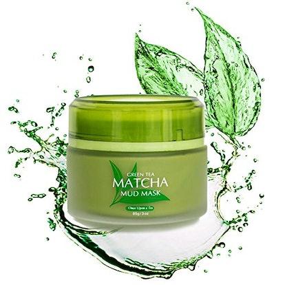 Once Upon A Tea, Matcha Green Tea Mud Facial Mask