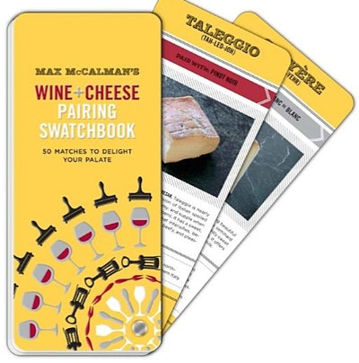 Max McCalman's Wine and Cheese Pairing Swatchbook