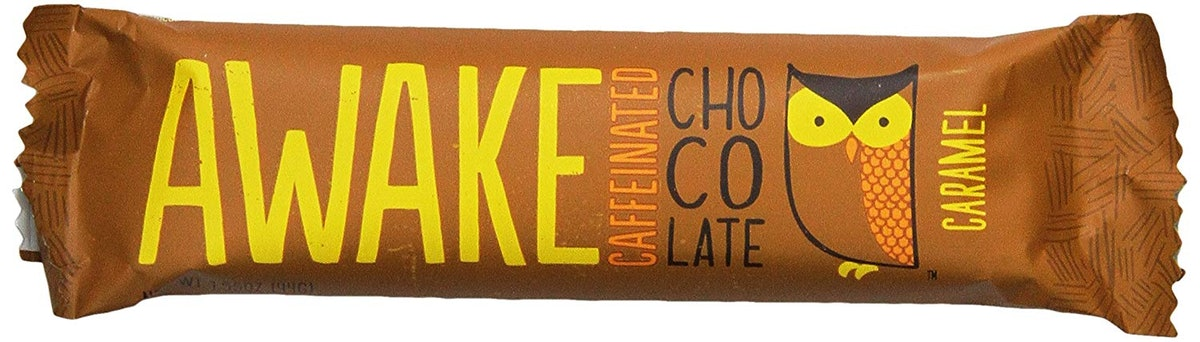 AWAKE Chocolate Chocolate Caramel Bar (12 Pack)