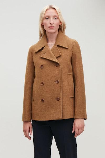 Short Wool Pea Coat