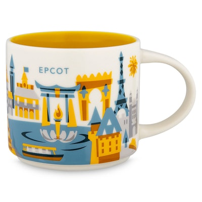 Epcot YOU ARE HERE Starbucks Mug