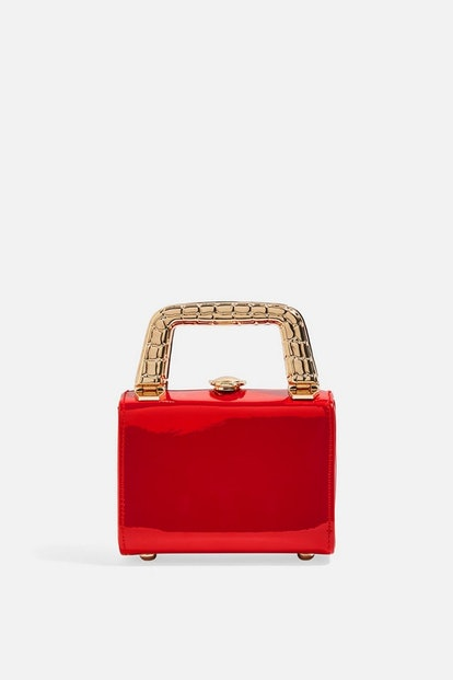 Mia Metal Handle Mini Bag
