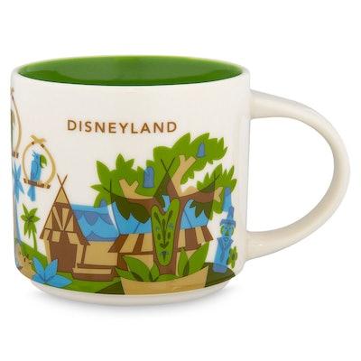 Disneyland YOU ARE HERE Starbucks Mug