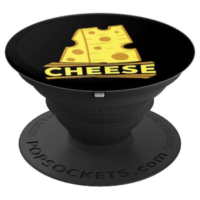 Cheese lover, holey cheese - PopSockets Grip and Stand for Phones and Tablets