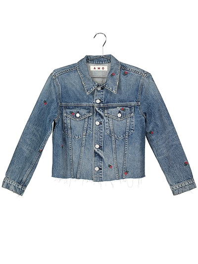 Cropped Pop Jacket With Embroidery