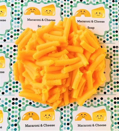 Macaroni and Cheese Soap