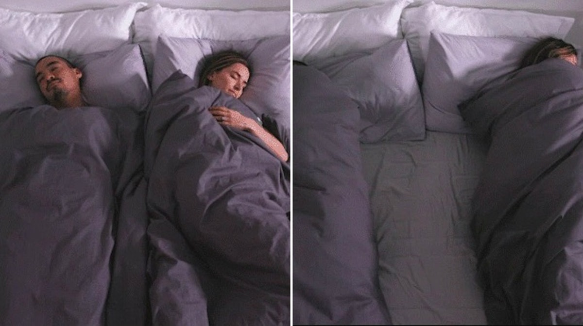 What Is Ervet? The Two Duvet Bedding System Will Keep You & Your SO From Fighting Over Blankets