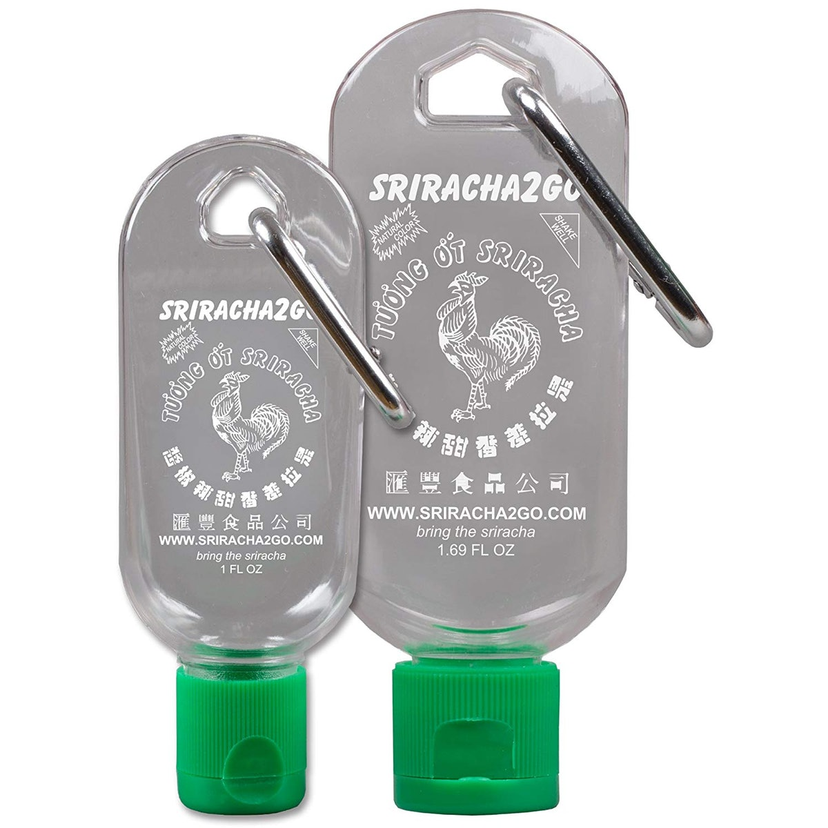 Sriracha2Go Keychain (2 Pack)
