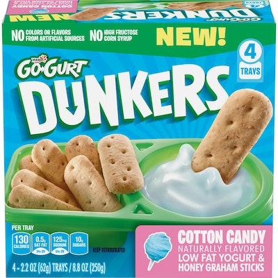 Yoplait Go-Gurt Cotton Candy Yogurt Dunkers