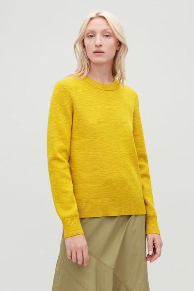 Ribbed Merino-Wool Jumper