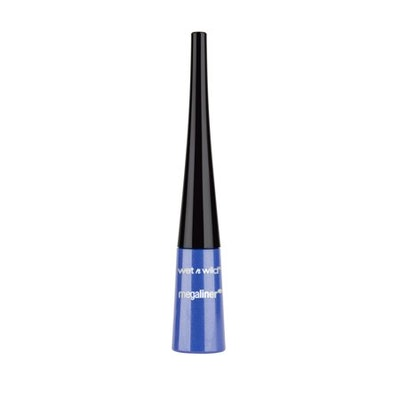 wet n wild MegaLiner Liquid Eyeliner, Voltage Blue