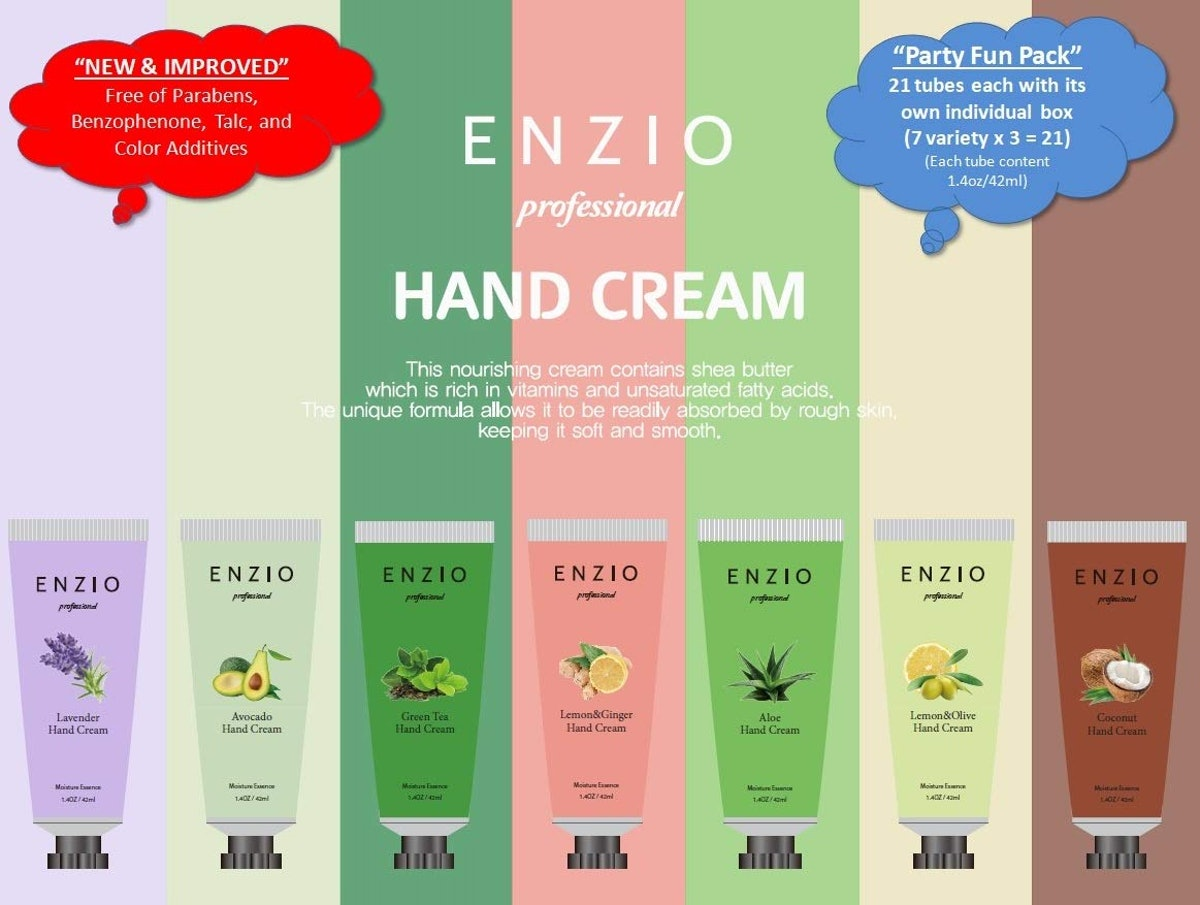 ENZIO Hand Cream Set (Set of 21)