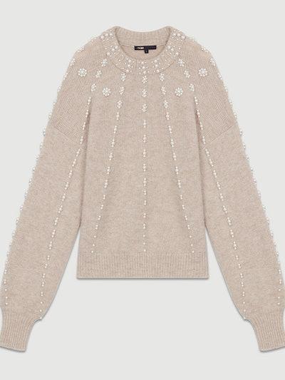 Oversize Sweater In Wool Blend