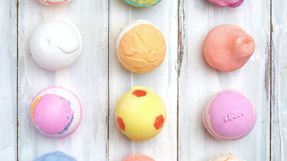 What Are Lush S New Bath Bomb Fragrances They Re All Fan Favorites