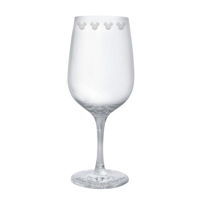 Mickey Mouse Icon Wine Glass