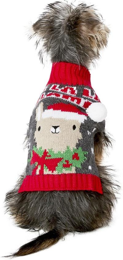 Llama Dog Sweater