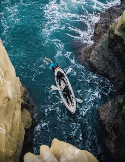Kayak In La Jolla